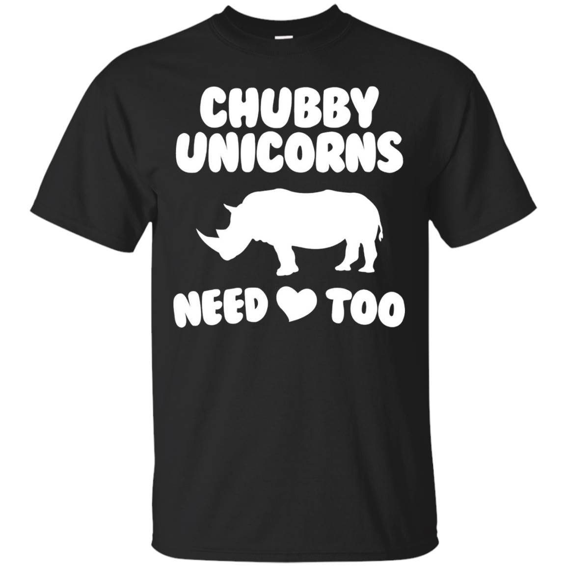 Chubby Unicorns Need Love Too Shirt