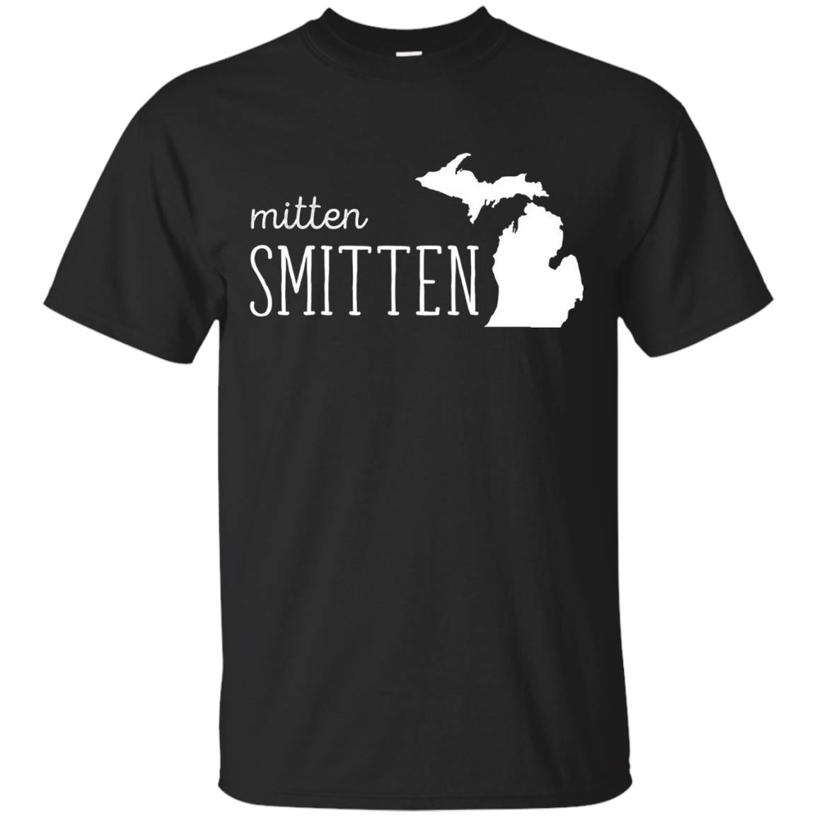 Michigan Mitten Smitten State T-shirt