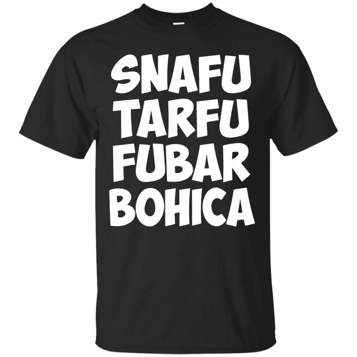 SNAFU TARFU FUBAR BOHICA Military Code – T Shirt