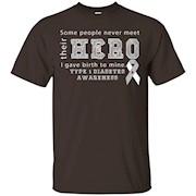 Type 1 Diabetes Awareness Mom T-Shirt