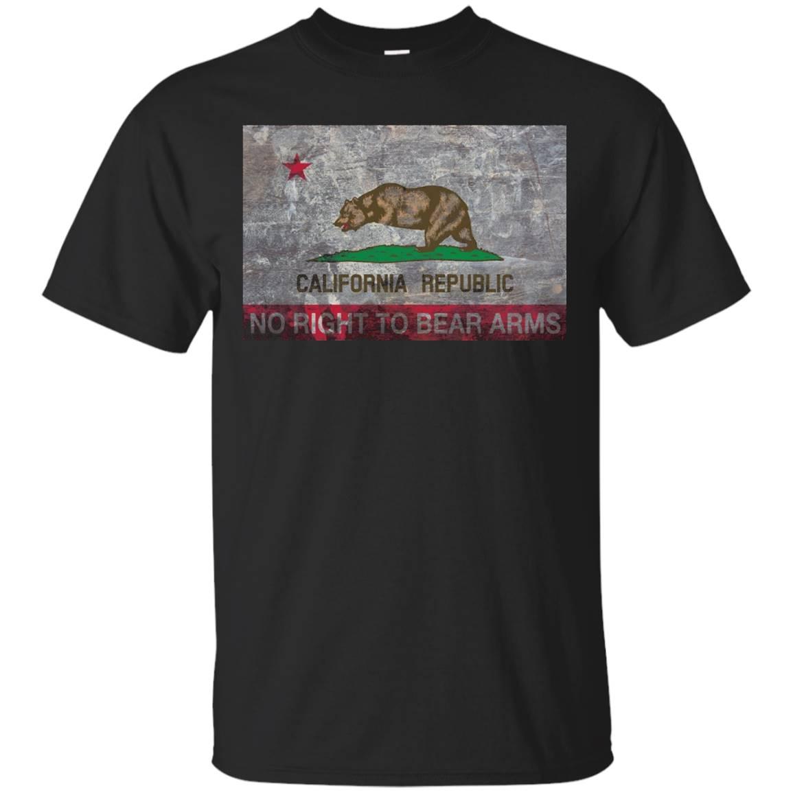 California Flag No Right To Bear Arms T-Shirt