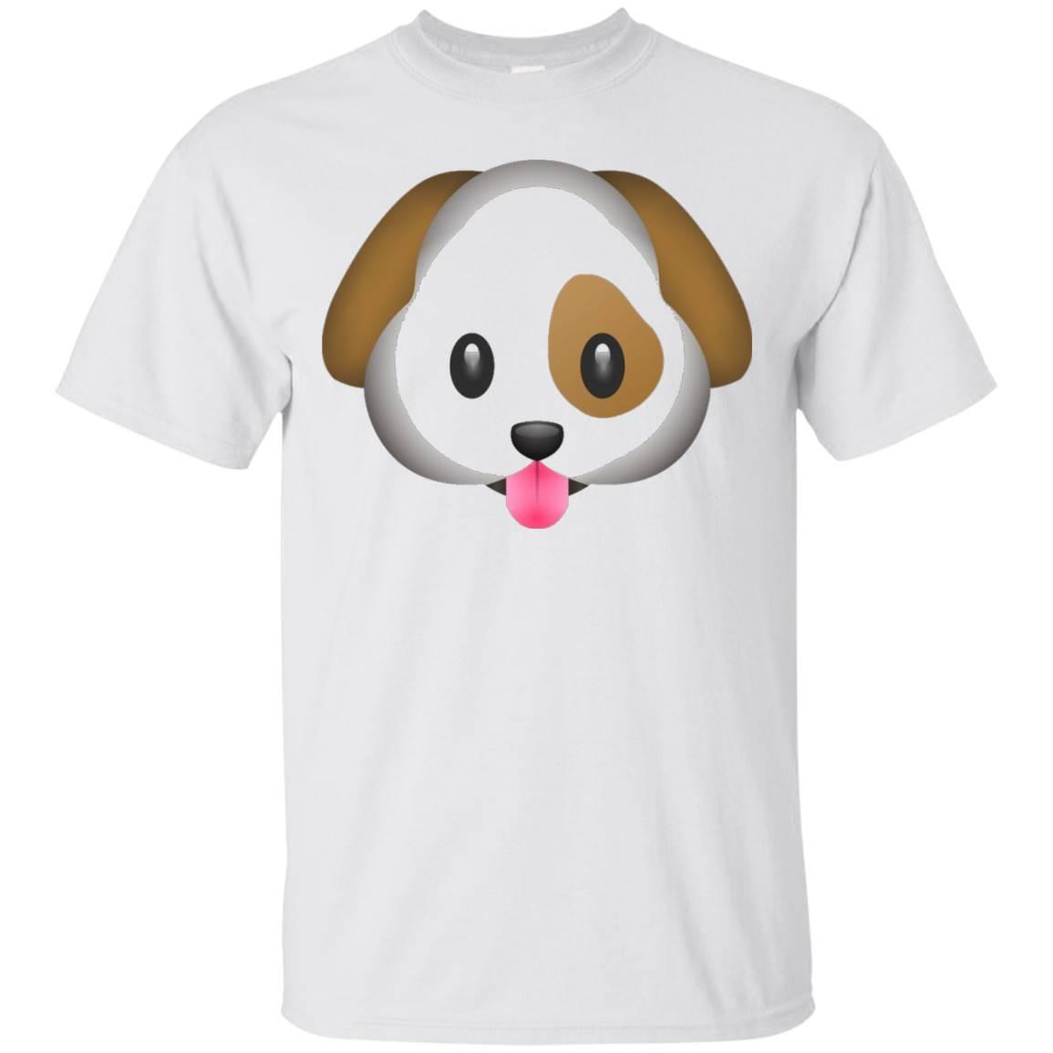 Dog Puppy Emoji T Shirt