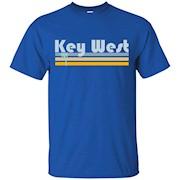Florida Beachgoer Retro – Palm Tree Key West T-Shirt
