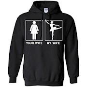 Men's my wife Ballet Dancers Shirt – ballet tee shirt