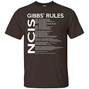 NCIS Gibbs Rules T shirt – Tshirt Rules