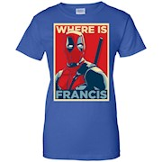 OBEY Where is Francis t-shirt