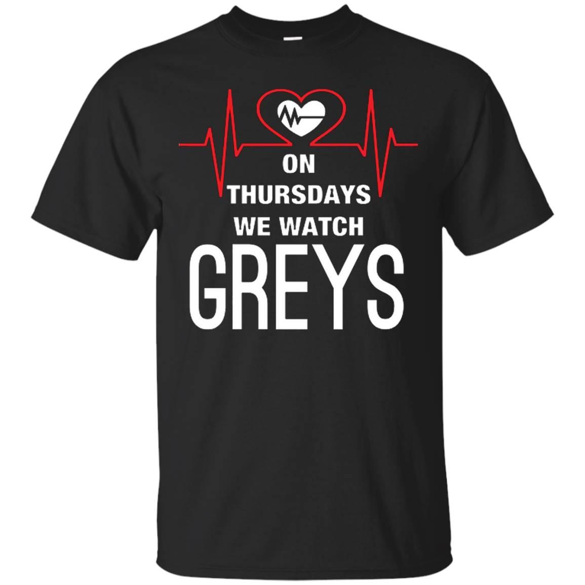On Thursdays We Watch Greys T Shirt