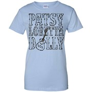 Patsy Loretta Dolly – Classical Country Music Blk – T Shirt