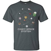 Cut the Rope Om Nom Space System T-Shirt