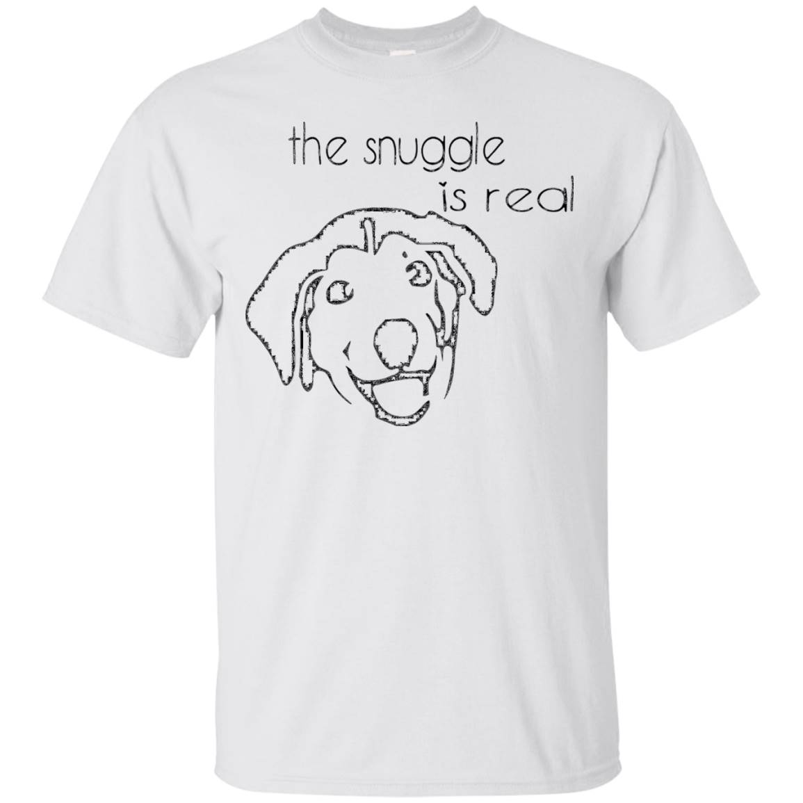 The Snuggle is Real Dog Lovers Tshirt