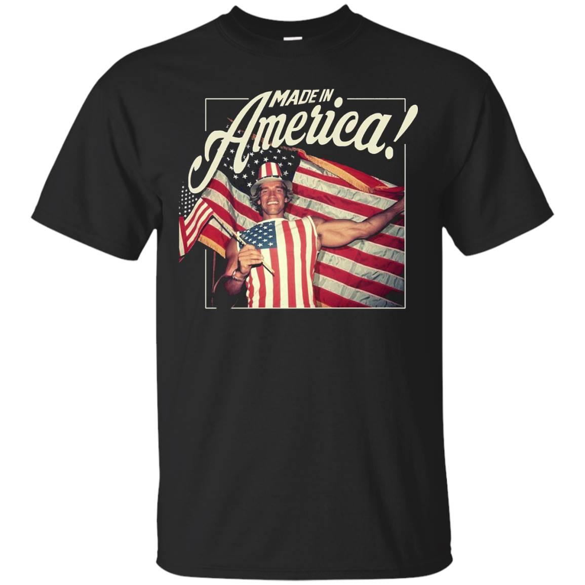 Ar-nold Born abroad, Made in America!