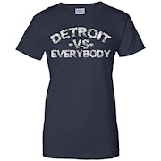 Detroit Vs Everybody – Classic Fitted Tee Shirt