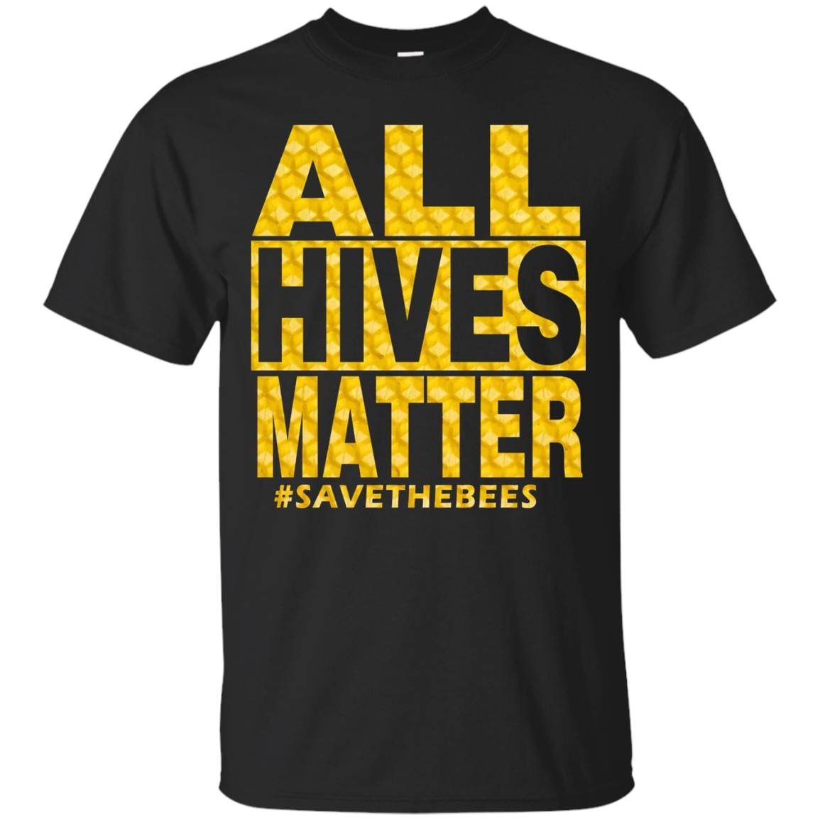 All Hives Matter – Save the Bees Beekeeper Shirt