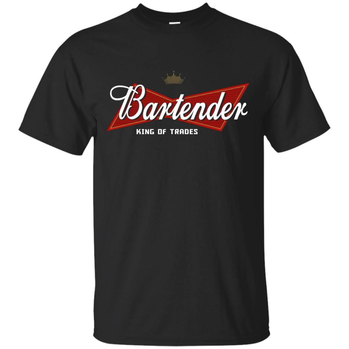 Bartender King of trades T shirt