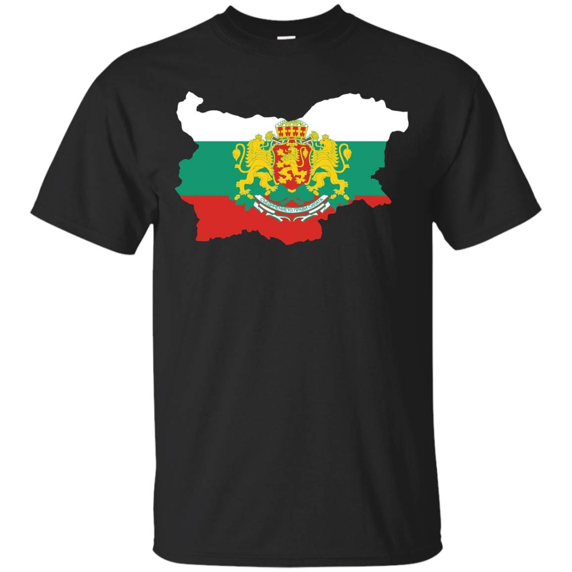 Bulgaria National Flag T-shirt Bulgarian T-Shirt