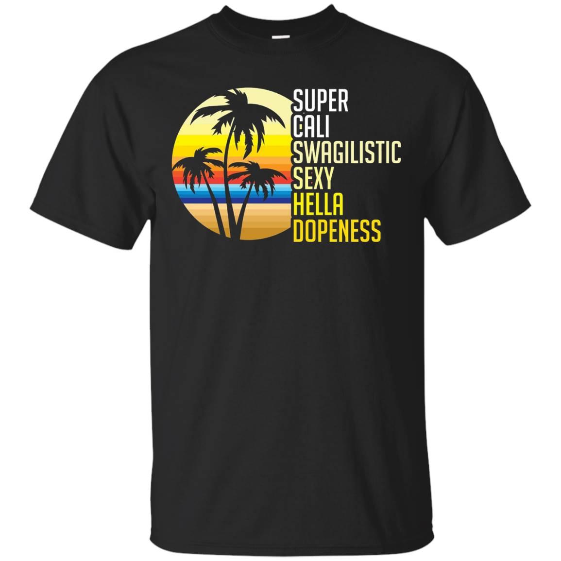 California T-shirt, Super Cali, Beach Party Tee, Zany Brainy