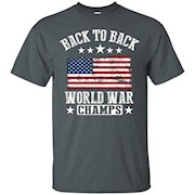 Back To Back World War Champs T-Shirt