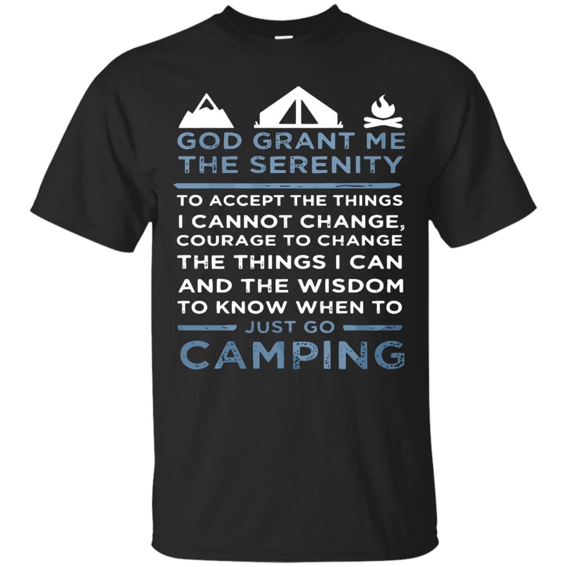 Camp Shirt God Grant Me The Serenity Shirt