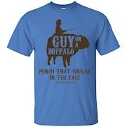 Guy on a Buffalo Shirt – Possum Possee Funny Graphic Tee