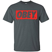 OBEY Red t-shirt
