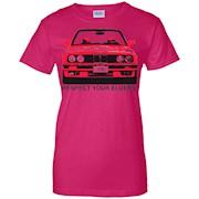 Respect Your Elders E30 T-Shirt Vintage Auto Car Enthusiast