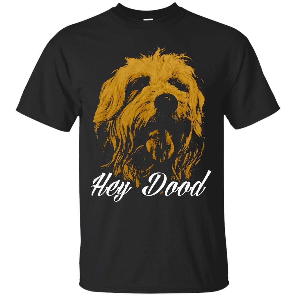 Hey Dood Awesome Goldendoodles Pet Dog Lover Gift T-Shirt