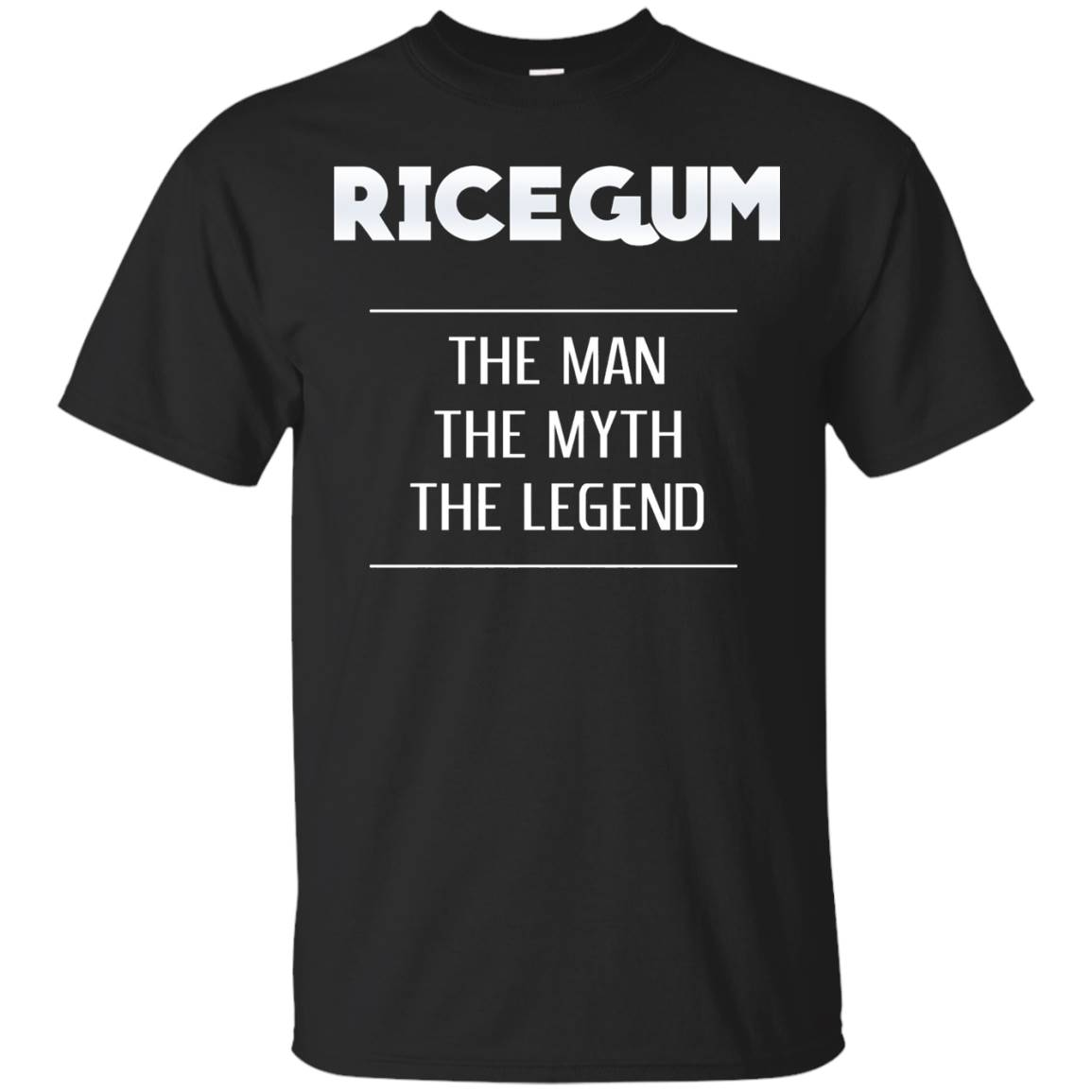 Ricegum, The Man, The Myth, The Legend – Funny – T Shirt