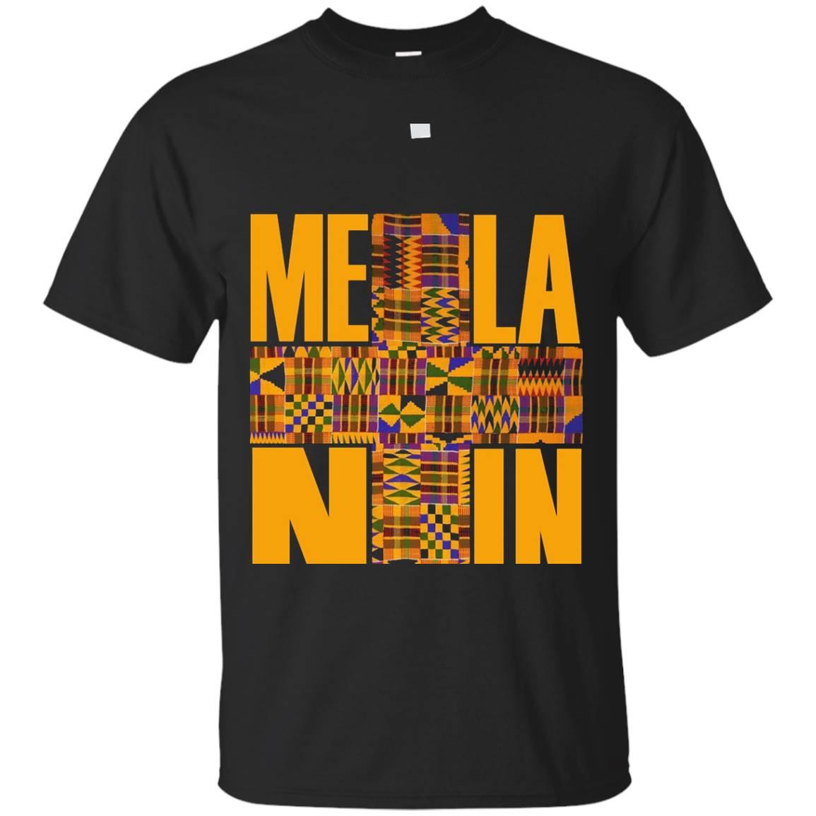 Melanin Quality Kente Gold Fabric T-Shirt
