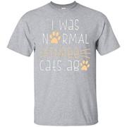 I Was Normal Three Cats Ago T-shirt – T-Shirt
