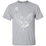 Mother Chicken Clucker T-shirt Funny Chicken tee – T-Shirt