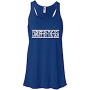 Cardiff-by-the-Sea San Diego Souvenir T-shirt – Women Tank
