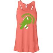 Grumpasaurus Rex Grumpy Dinosaur Lovers Cute Funny Tee Shirt – Women Tank