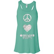 Peace Love Jeep T-shirt – Women Tank