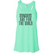 Sundays Are For The Girls T-Shirt – Women Tank