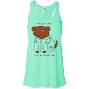 Trust Me I'm A Dogtor – Funny Doctor T shirt – Women Tank