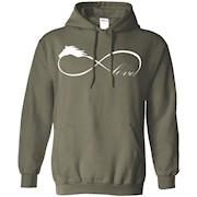 Horse Love Infinite Love Infinity Symbol Ladies T-Shirt – Hoddie