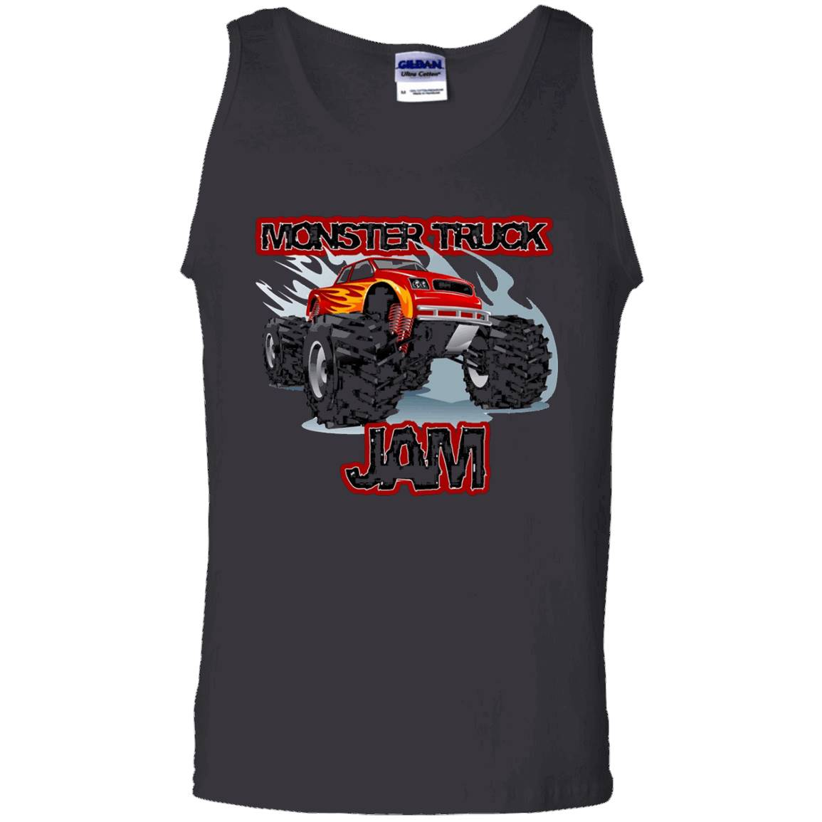 Monster Truck Jam T-Shirt for boys – Tank Top