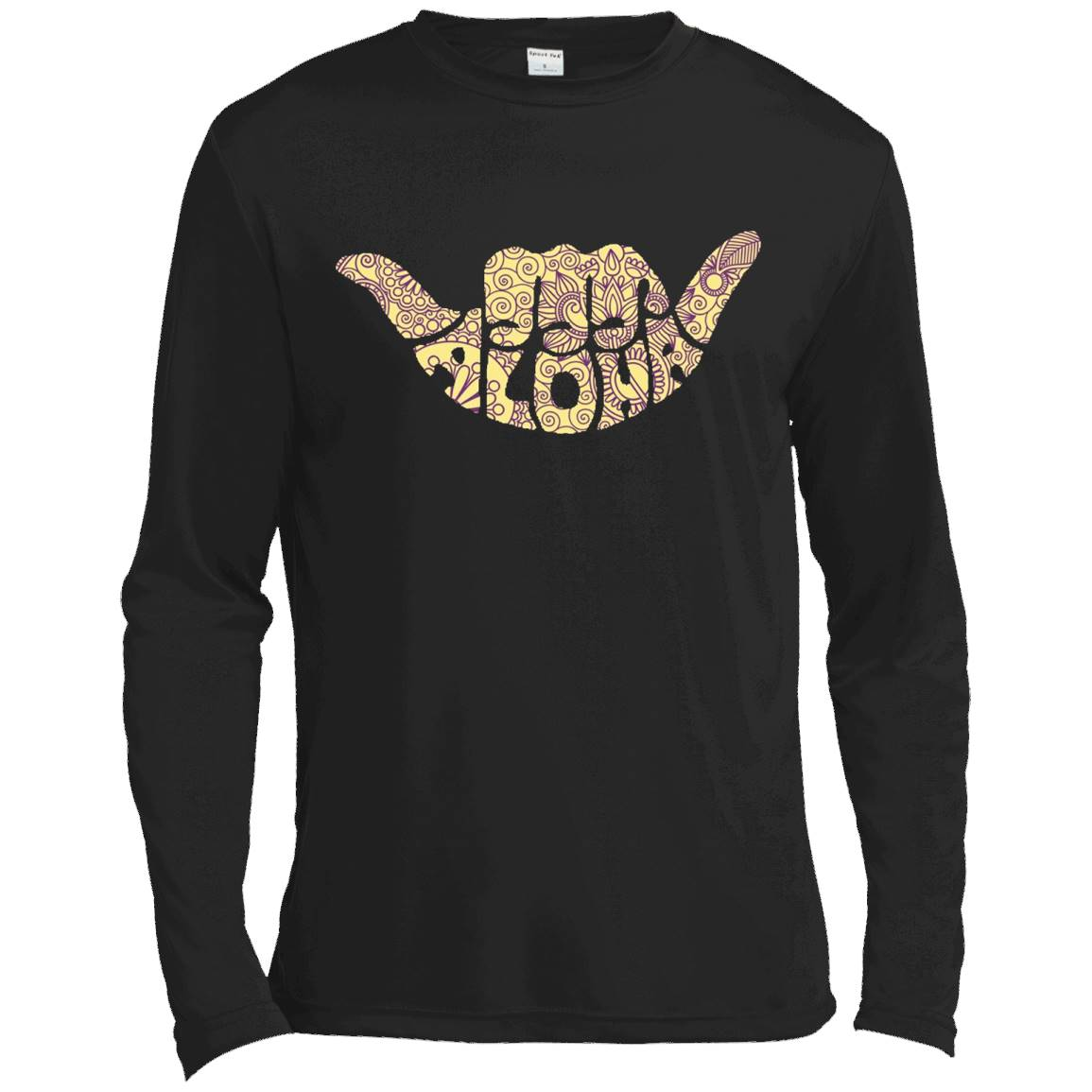 Aloha Sign T-Shirt – Long Sleeve Tee