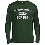 Men's My Favorite People Call Me Pop Pop T-Shirt – Long Sleeve Tee