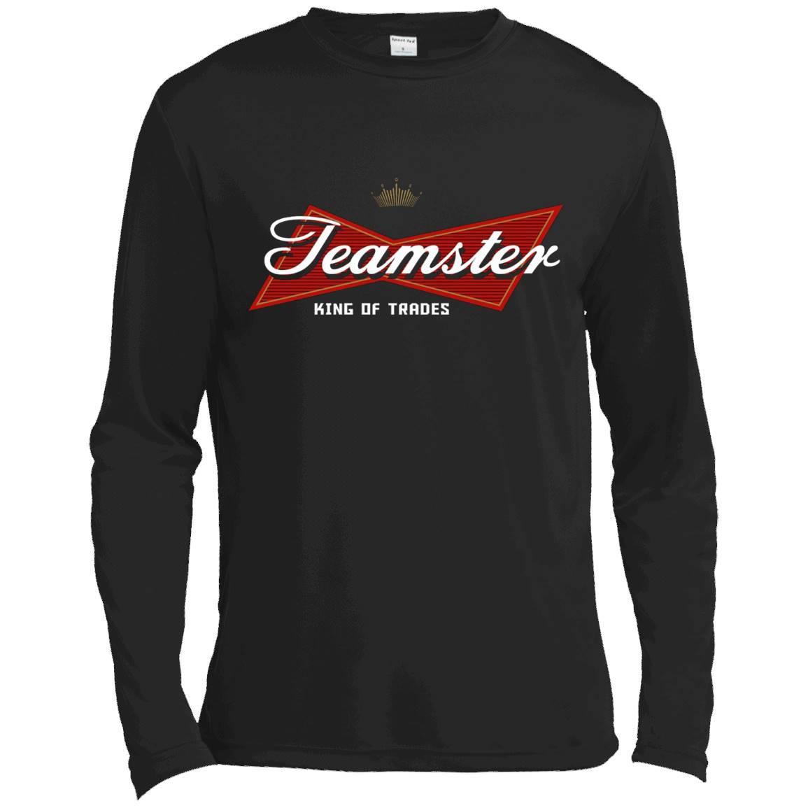 Teamster King of Trades T-shirt – Long Sleeve Tee