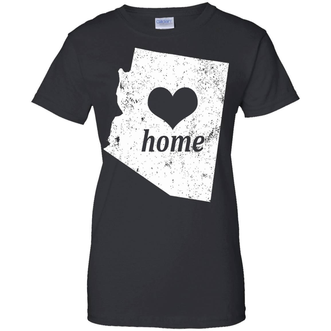 I Love Arizona Home T Shirt Arizona Gifts Arizona Shirt – T-Shirt