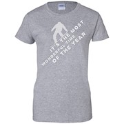Snowboarding – Most Wonderful Time Funny T-Shirt