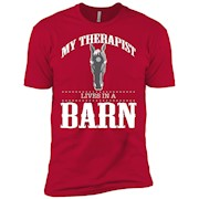 My Therapist Lives In A Barn Funny Farm And Country Shirt – T-Shirt