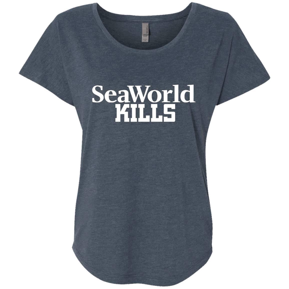 Animal Rights SeaWorld Kills Shirt – SeaWorld Kills T-shirt – T-Shirt