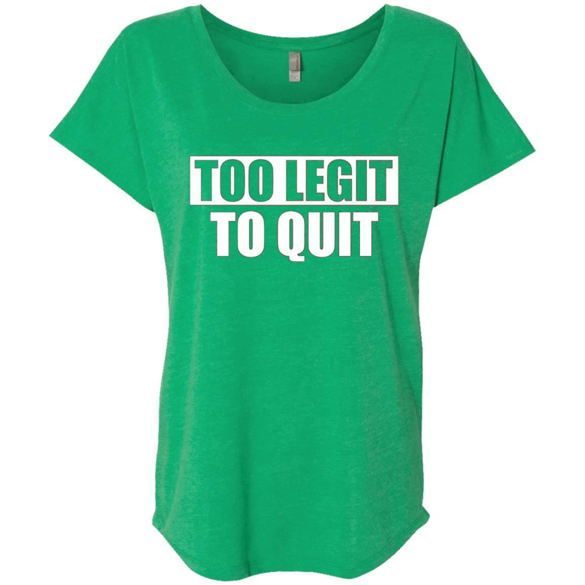 Too Legit To Quit T-Shirt – Funny Too Legit Shirt
