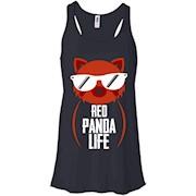 Red Panda Shirt – Red Panda Life Shirt – Women Tank