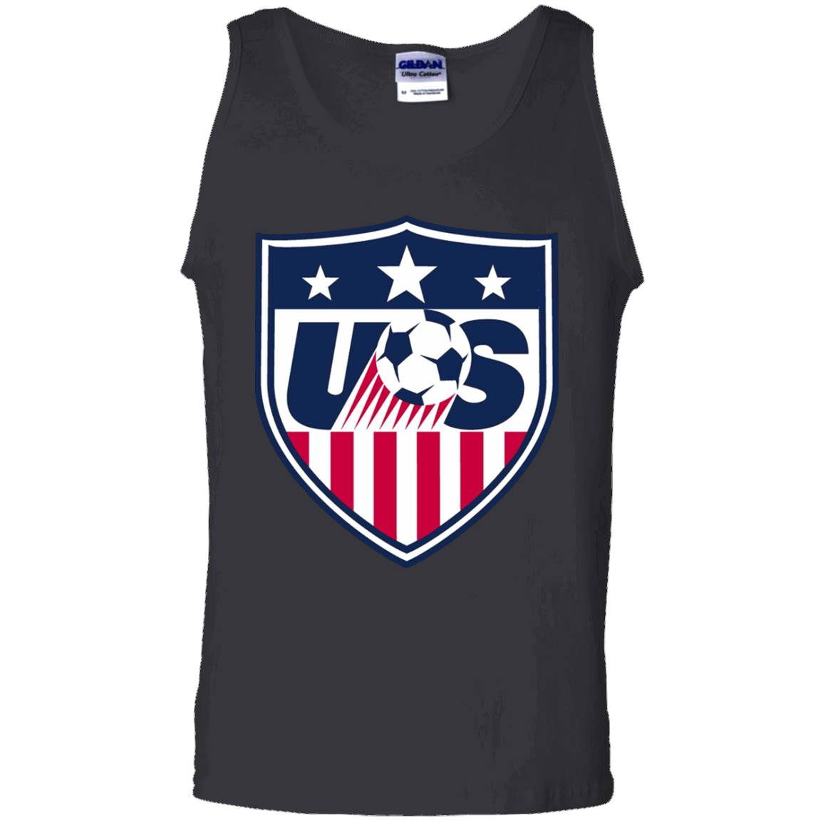 United States Soccer Graphic Logo – USA Soccer T-shirt – Tank Top