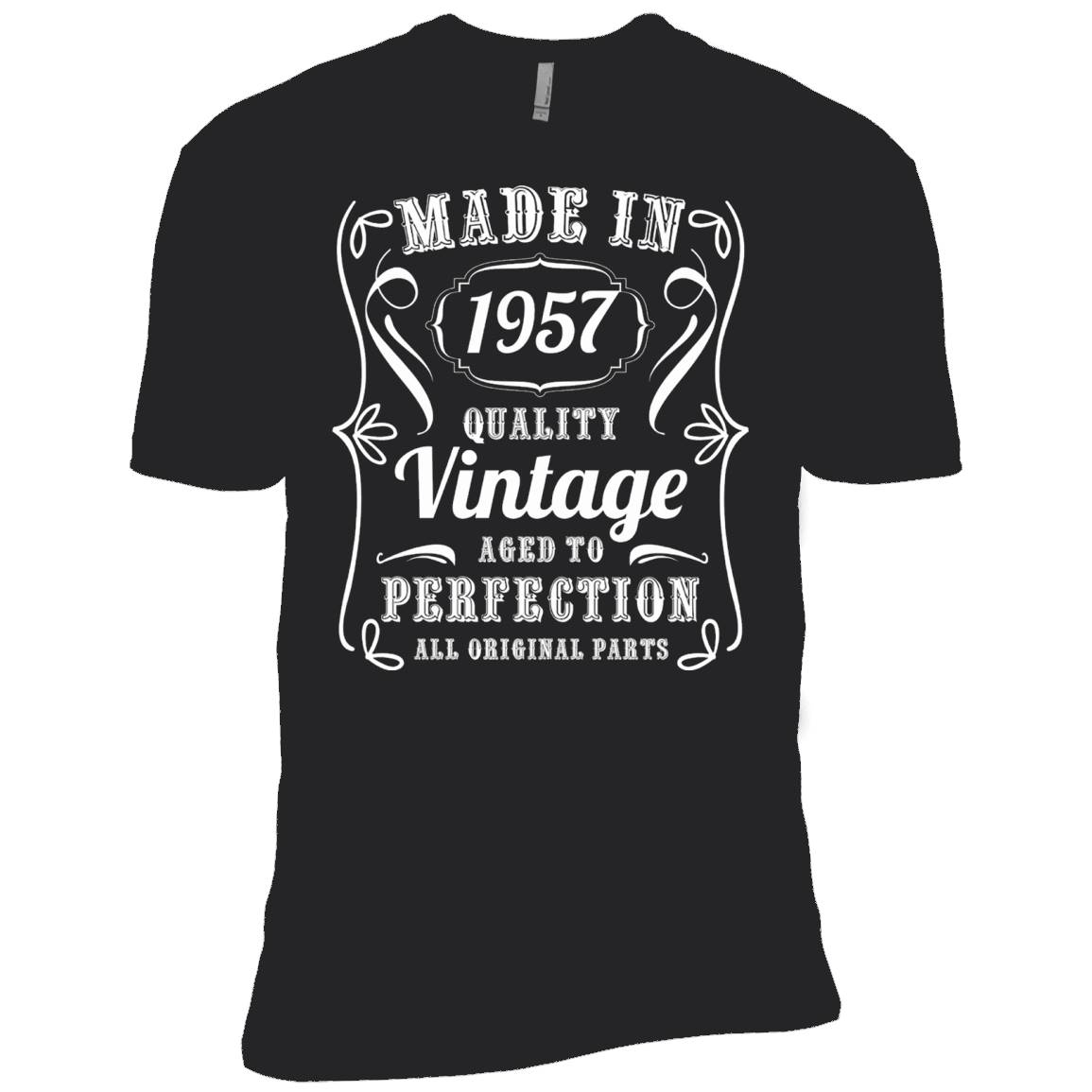 Made In 1957 Quality Vintage Aged To Perfection T-shirt – T-Shirt