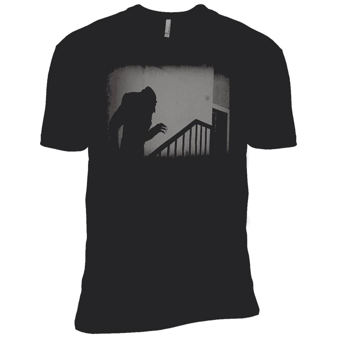 Nosferatu Vampire Classic Horror Black T-Shirt Dracula Men