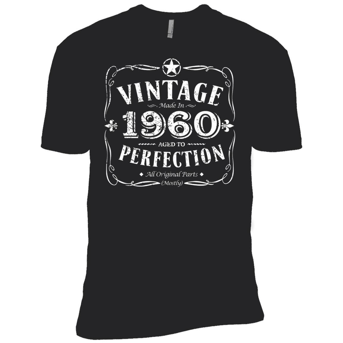 Vintage Made In 1960 Birthday Gift Idea T Shirt – T-Shirt